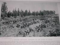 1896 Non 10 Batterie Montagne Artillerie Sur The March Guns
