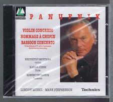 PANUFNIK CD NEW VIOLIN CONCERTO BASSOON CONCERTO