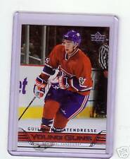 GUILLAUME LATENDRESSE YOUNG GUNS ROOKIE UD 06/07 HOT RC