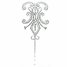 Rhinestone Transfer Hot fix Motif Decorative Tattoos Lile deco Fashion 3sheets