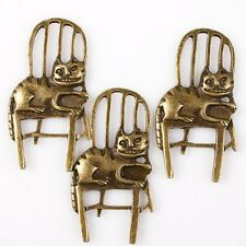 15pcs 144707 Hotsale Bronze Tone Animal Cat Chair Charms Alloy Jewelry Pendants