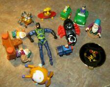 Lot 11 McDonald Happy Meal Toys Spiderman Webrunner,Woodstock,Batman,Snow White