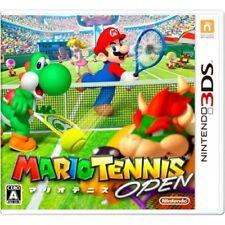 New 3DS Mario Tennis Open Japan Import Japan Import