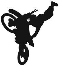 (Nr245)SPORT FREESTYLE MOTOCROSS BIKE DECAL VINYL STICKER WALL WINDOW TRUCK CAR