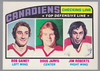 1976-77 OPC O-Pee-Chee #217 Checking Line Mint Sharp