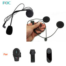 2X HardLine Micro Écouteur Pour Série FDC Casque Moto Bluetooth BT Intercom