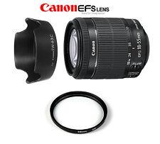 Canon EF-S 18-55 mm f/3.5-5.6 IS STM+ PARALUCE EW-63C PER EOS 7D 650D 600D 550D