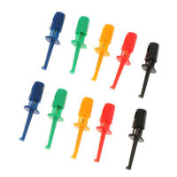 10 Pcs Mini Test Hook Probe Spring Clip for PCB SMD IC