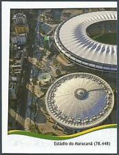 PANINI WORLD CUP 2014- #026-ESTADIO DO MARACANA-CAPACITY 78,448-LEFT HALF