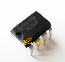 100PCS NE555P NE555 DIP-8 SINGLE BIPOLAR TIMERS IC factory price
