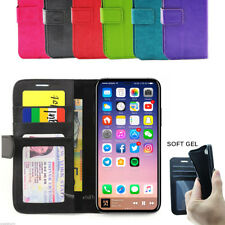 Apple iPhone 4 4G 4S 4GS Wallet Credit Card Flip Leather Pouch Case Cover