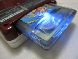 Shining Custom Game Boy Donkey Kong GB Nintend New battery Clear Case Replaced.