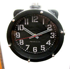 PENDULUX  NAVY  MASTER WALL CLOCK BLACK WCNAVBK