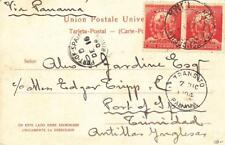 1904, Lima, Peru to Port of Spain, See Remark (22915)