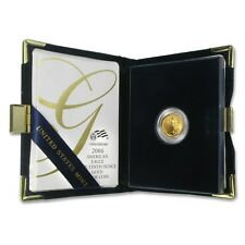 2006-W 1/10 oz Proof Gold American Eagle Coin - Box and Certificate - SKU #12215