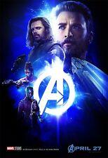 24x36 Avengers: Infinity War Movie Poster - Drax David Bautista v25