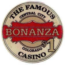 $1.00 Casino Chip - Famous Bonanza Casino - Central City, Colorado (Obsolete)