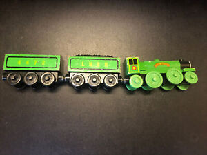 FLYING SCOTSMAN and TENDERS (2001) / RARE Thomas & Friends Wooden train