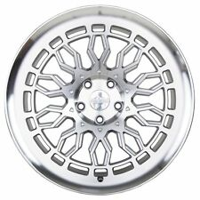 "18"" Radi 8 R8A10 Wheels-MATT Argent Usiné-VW/Audi/Mercedes 5x112"
