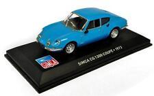 Voiture modèle réduit collection 1/43ème Simca CG 1300 coupé 1973