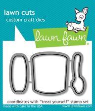Lawn Fawn Lawn Cuts Custom Craft Die treat yourself #LF898 NEW