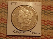 1878-CC Morgan Dollar  low mintage
