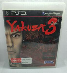 Yakuza 3 - Sony PlayStation 3 PS3 🎮 PAL