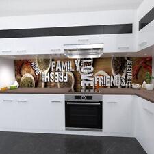 Kitchen wall Premium Rigid PVC 0,4mm Stove splashback kitchen spices