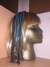 MAISON MICHEL RARE SOLD OUT HEADBAND GLAM HAIR COMB OF BEADED STRANDS & CHAINS !