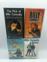 Set of 4 BILLY CONNOLLY VHS Videos - Free Postage
