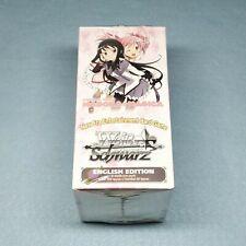 1x English Weiss Schwarz Puella Magi Madoka Magica 20ct Booster Box New Sealed