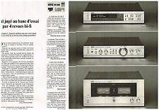 Publicité Advertising 1980 (2 pages) Hi Fi Ampli Tuner Akai
