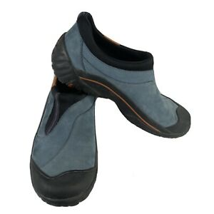 Clarks Muckers Women's Waterproof Shoes Blue Leather Size 7M