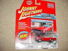 JOHNNY LIGHTNING MUSCLE CARS USA 1969 CAMARO CONV. RED COLOR FREE USA SHIP