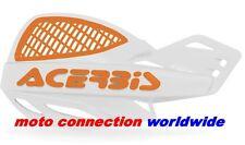 ACERBIS UNIKO VENTED WHITE / ORANGE HANDGUARDS KTM SX50 SX65 SX85
