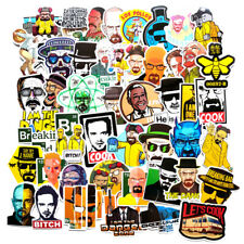 50 Pcs/lot Breaking Bad Classic American Drama Stickers For Laptop Car Luggage
