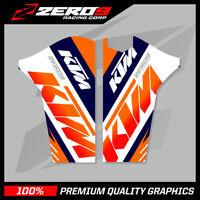 KTM SX SXF 2008-2014 EXC 2008-2015 LOWER FORK MOTOCROSS GRAPHICS MX TEAM ISSUE