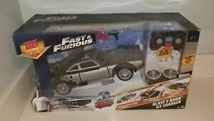 R/C Fast And Furious Blast & Burn Ice Charger