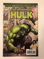 The Incredible Hulk Vol. 2 #110 Marvel Comics (Nov, 2007) VF/NM 9.0 World War