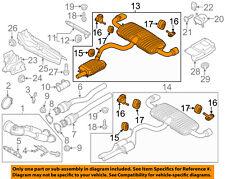 AUDI OEM 12-13 TT Quattro 2.5L-L5-Muffler 8J0253181AJ