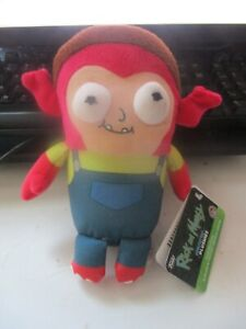 """Funko Rick and Morty 6"""" Plush Collectible Soft Toy Galactic Plushies Morty Jr"""