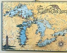 Great Lakes Lighthouse Map