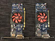 2 x ATI-102-C26405B Radeon HD6450 LowProfile DVI Grafikarten 2GB, wie NEU