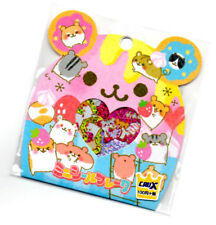 Crux Hamu Hamster Kawaii Stickers Sack sticker flakes stationery penpals A