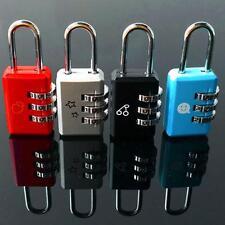 Luggage Code 3 Digit Password Lock Metal Dial Combination