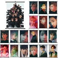 1PC KPOP NCT127 NCT U empathy Photo Card Poster Lomo Cards Scroll Cloth Poster