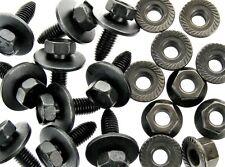 Body Bolts & Flange Nuts- M8-1.25 x 25mm Long- 13mm Hex- 40 pcs (20ea)- LD#129F