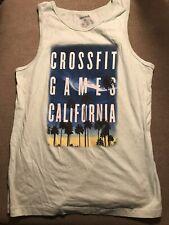 Men's Reebok Crossfit Games Tank Top Shirt Large L