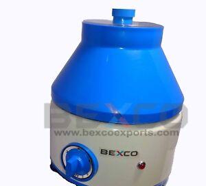 Blood Centrifuge Machine 220 V 3500 rpm 5 Step Speed Regulator BEXCO, Free Ship