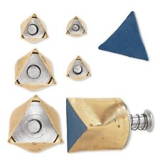 Kemper Klay Kutter Assorted Size Polymer Clay Triangle Cutter Great for Beads